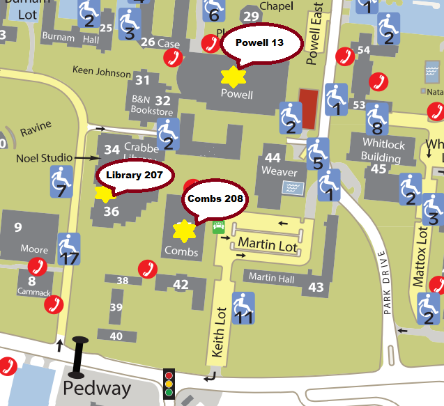 Green Start Web Page Site Map: Eastern Kentucky University